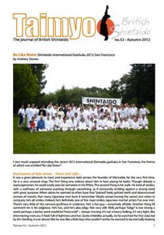 Issue 52 - Autumn 2012